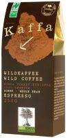 Kaffa Fairtrade Wildkaffee Espresso ganze Bohne