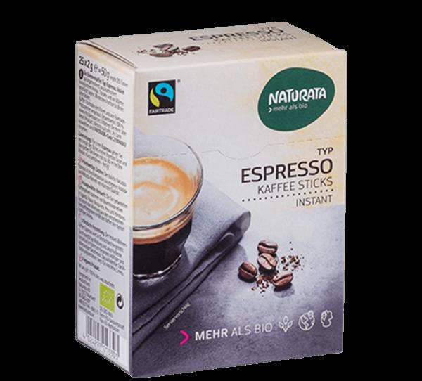 Naturata Espresso Kaffeesticks 25x2g