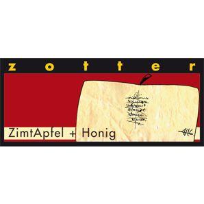 Fairtrade Schokolade ZimtApfel + Honig
