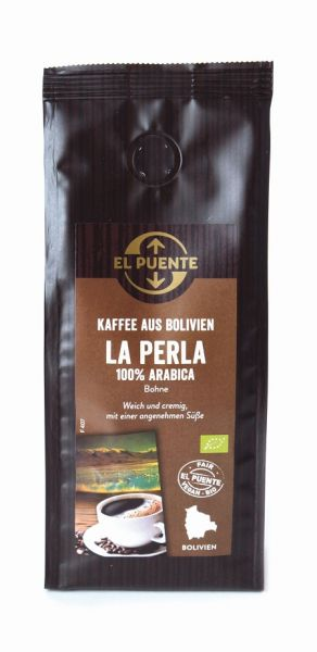 Arabica Kaffee Bolivien La Perla ganze Bohne