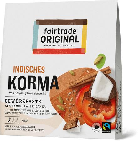 indisches curry korma bio fairtrade