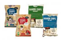 Knabber Set Kartoffel Maniok Chips