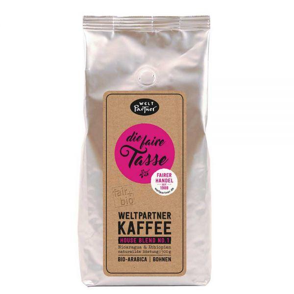 Weltpartner Kaffee die faire tasse 500g