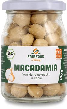 fairfood bio macadamia nüsse natur