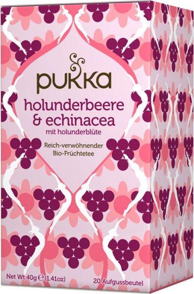 Pukka Tee Holunderbeere Echinacea