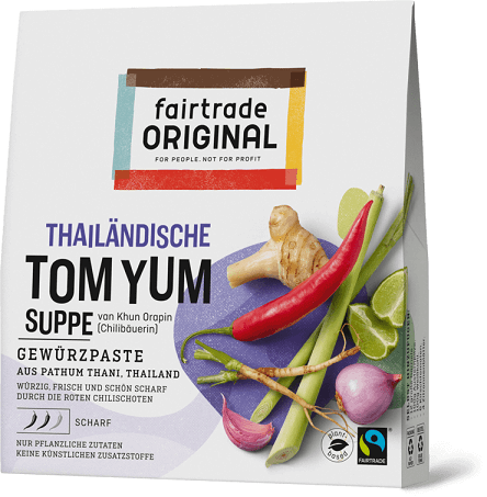 thailand tom yum suppe bio fairtrade