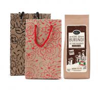 Kaffee Burundi Geschenktasche