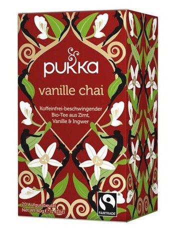 Fairtrade Tee Pukka Vanilla Chai