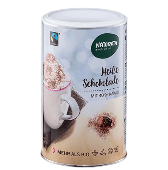 naturata heiße schokolade trinkschokolade