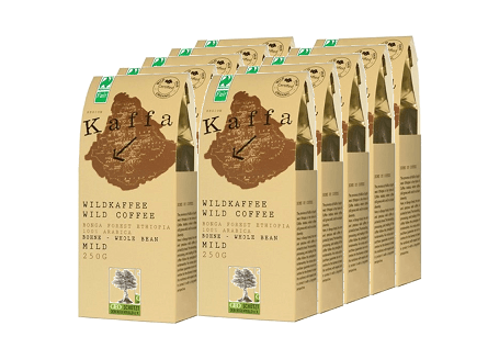 kaffa-10er-set-wildkaffee-mild-bohne