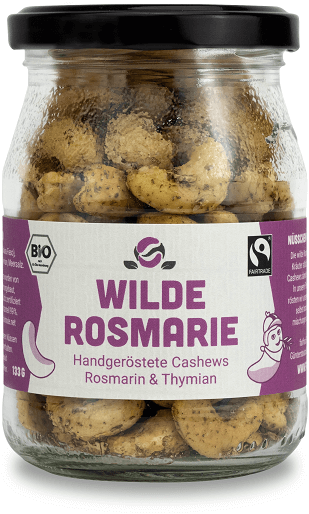 cashew rosmarin thymian bio fairtrade