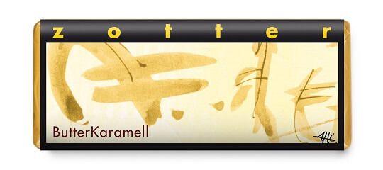zotter handgeschöpft butter karamell