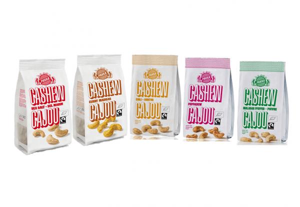 Pakka Cashew Mix geröstet