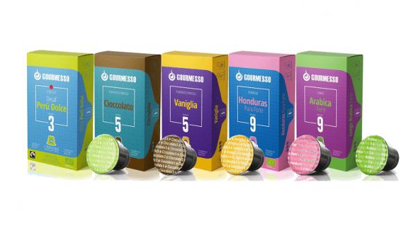 gourmesso kaffeekapseln kompostierbar 5er set
