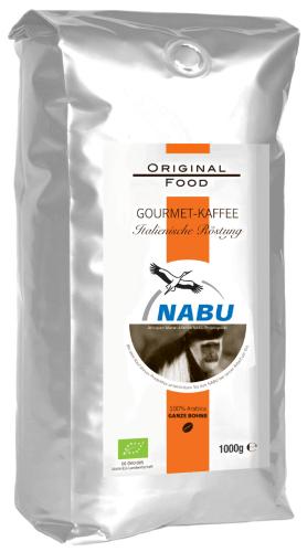 Original Food Nabu Kaffee ganze Bohne