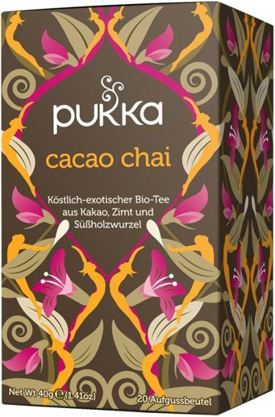 Fairtrade Tee Pukka Cacao Chai