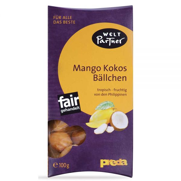 Mango Kokos Bällchen