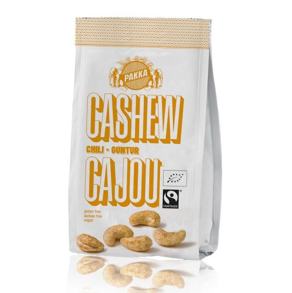 Pakka Cashewnüsse geröstet Chili