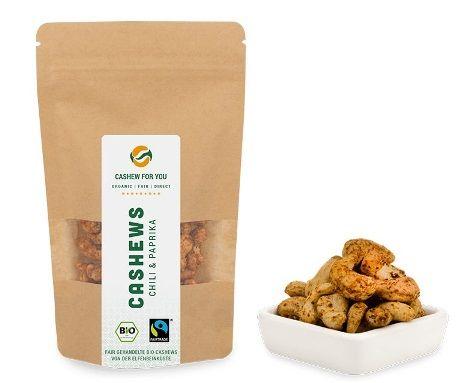 cashew chili paprika bio fairtrade