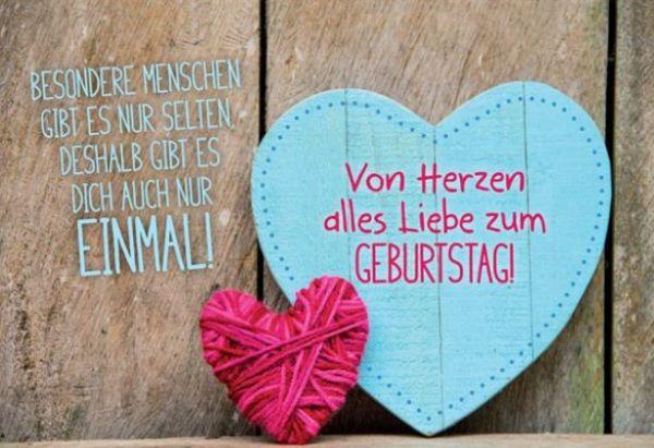 FairMail Glückwunschkarte Alles Liebe zum Geburtstag