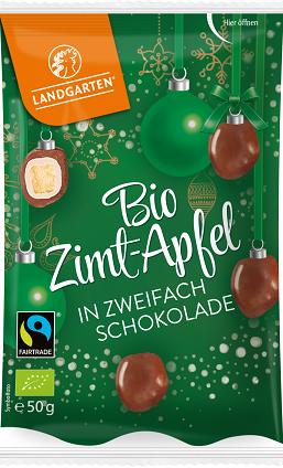 Landgarten Zimt Apfel in zweifach Schokolade