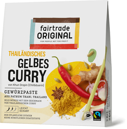 thailändisches gelbes curry