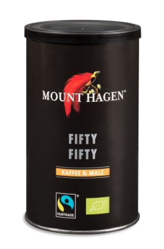 Mount Hagen Malzkaffee Fifty Fifty