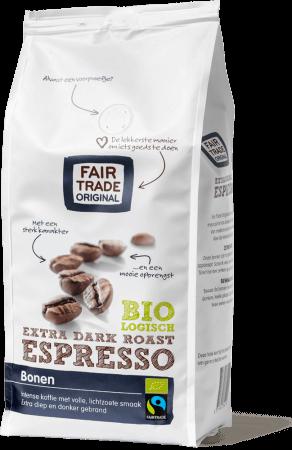 fair trade original espresso bohne extra dark roast