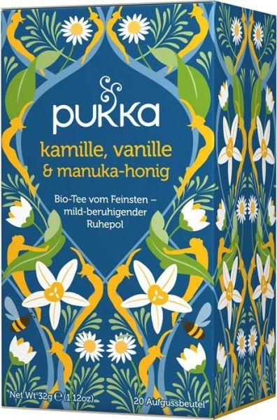 Pukka Tee Kamille Vanille Manukahonig