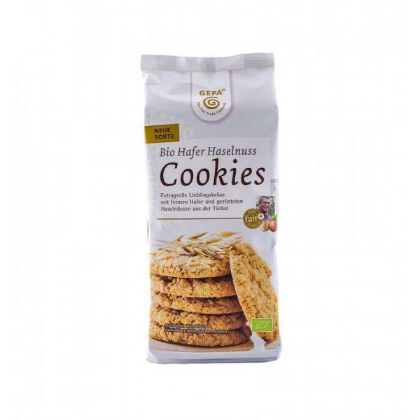 gepa fairtrade gebäck hafer haselnuss cookies