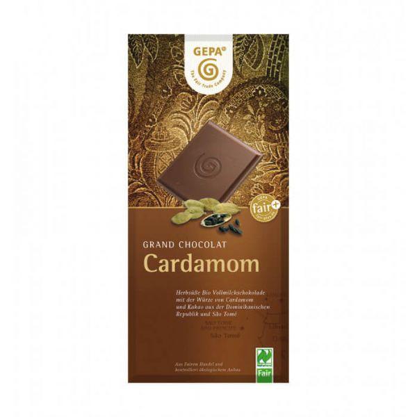 Gepa Bio Schokolade Vollmilch Kardamom