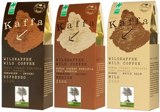 Kaffa Wildkaffee 3er Set