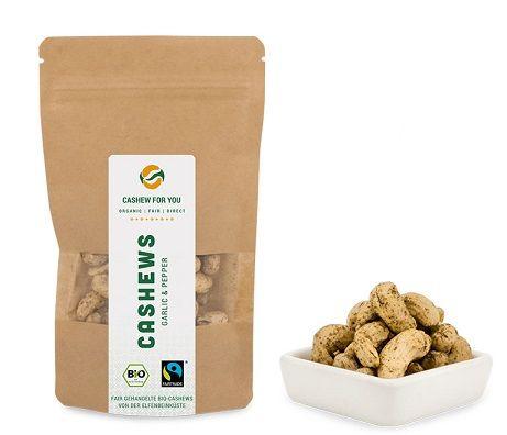 cashew knoblauch pfeffer bio fairtrade