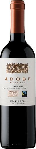 Fairtrade Wein Emiliana Organico Adobe Carmenere