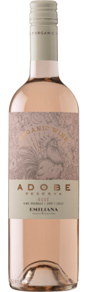 Fairtrade Wein Emiliana Organico Adobe Rosé
