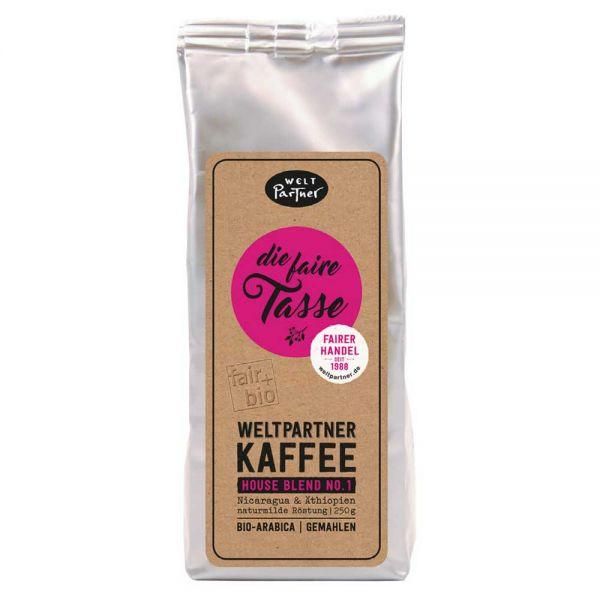 Weltpartner Kaffee die faire tasse 250g