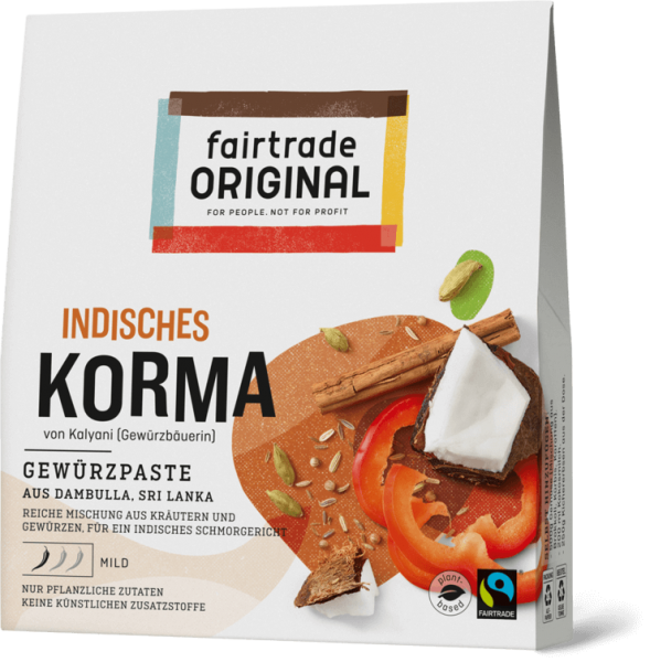 indisches curry korma bio fairtrade