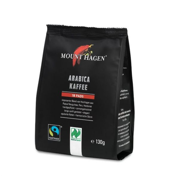Fairtrade Röstkaffee Pads Mount Hagen