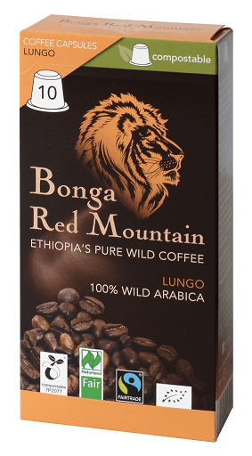 bonga red mountain lungo kaffeekapseln