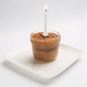 Zotter Sim Bim Geburtstagskuchen mit Kerze 2