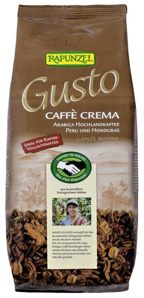 rapunzel arabica kaffee crema gusto bohne 1kg