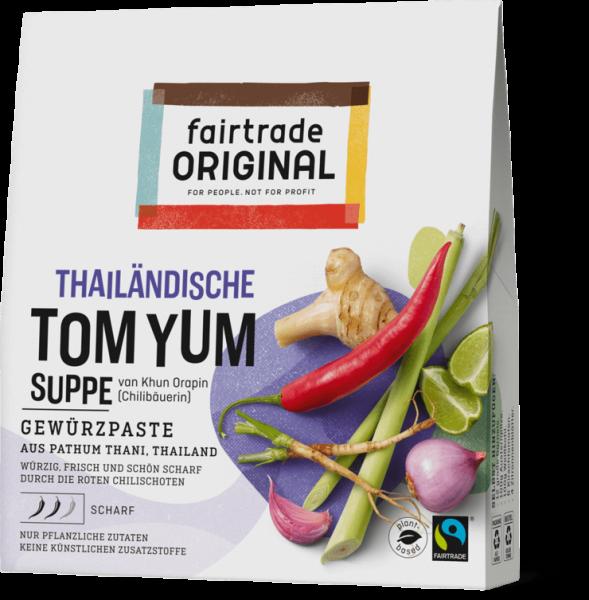 thailand tom yum suppe bio fairtrade