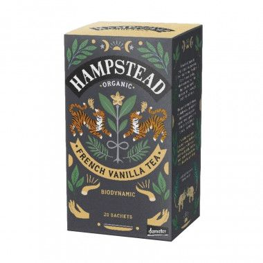 Hampstead Black Vanille Tee