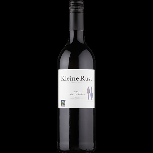 Fairtrade Wein Stellenrust Kleine Rust Pinotage Shiraz