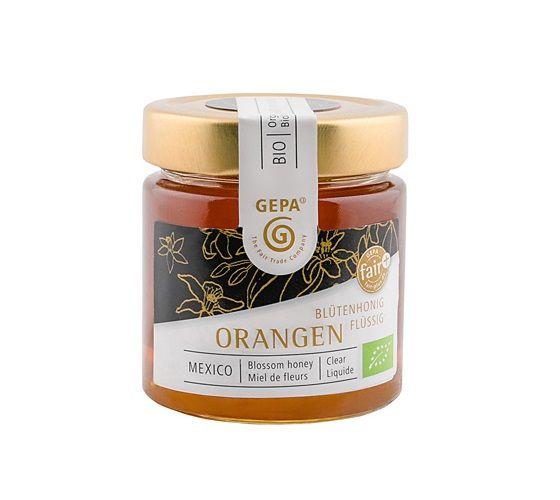 gepa bio honig orangen blüte fairtrade