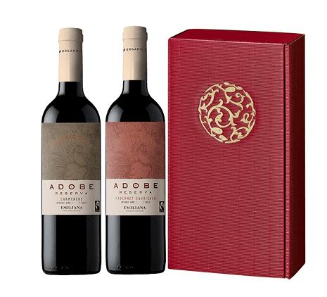 adobe rotwein geschenkset