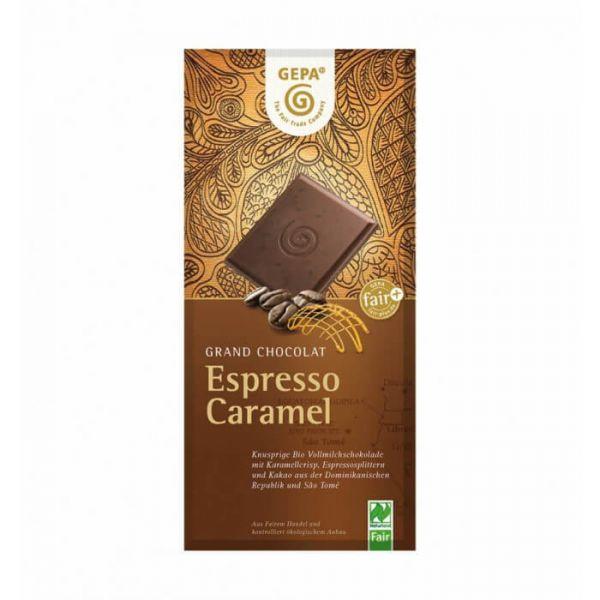 Gepa Bio Schokolade espresso karamell