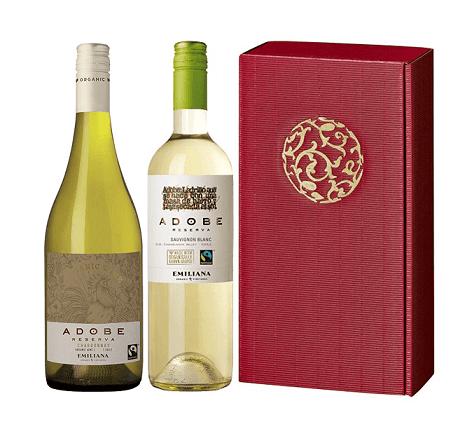 adobe weißwein chile geschenkset