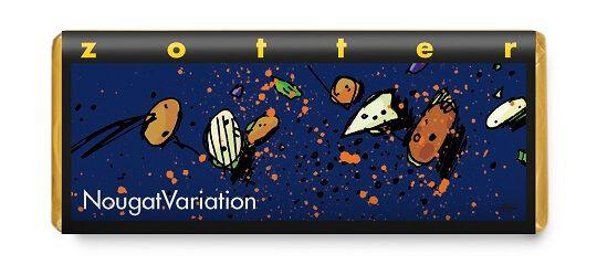 Fairtrade Schokolade Zotter Nougatvariation