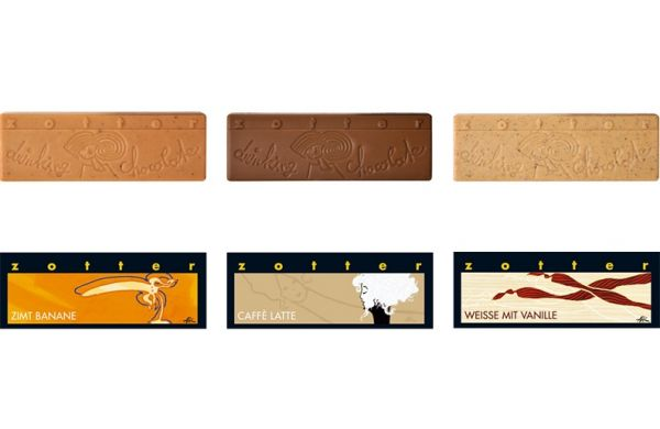 Zotter Trinkschokolade 3er Set Exotisch